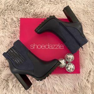Shoedazzle FIRA Block Heel Bootie